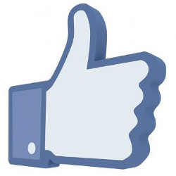 Icona mi piace pagina facebook