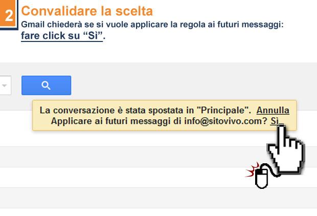 Gmail che cambia